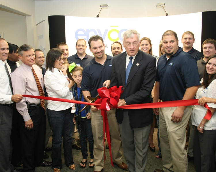 <p>Envoc Ribbon Cutting Ceremony and Open House</p>
