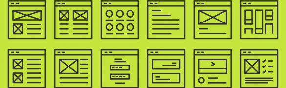 Define: Sketches, Sitemaps, Style Tiles, Wireframes, and Mockups