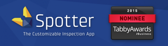 Spotter Inspection App Nominated for Two Tabby Business Awards