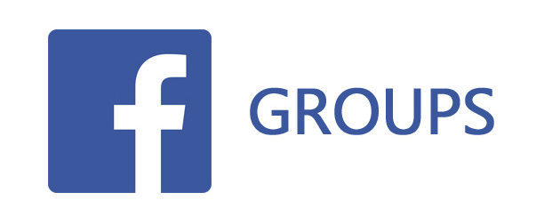 Facebook logo with the word
