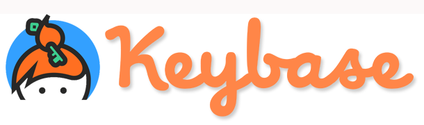 keybase logo with cartoon of top of female's head with key in her hair