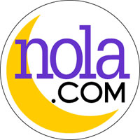 nola.com logo with crescent moon