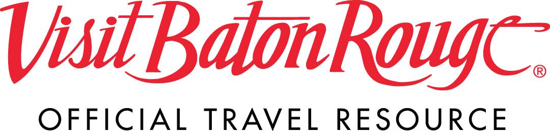 Visit Baton Rouge logo with phrase