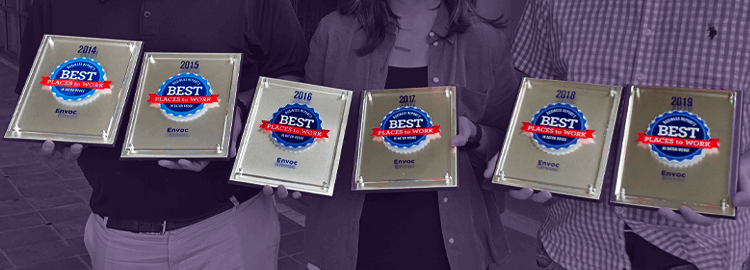 Envoc Ranks 2nd in Best Places to Work List