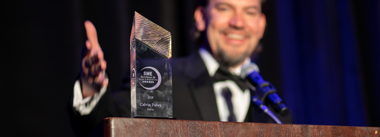 Envoc President Calvin Fabre Awarded SME Sales & Marketing Excellence Honoree