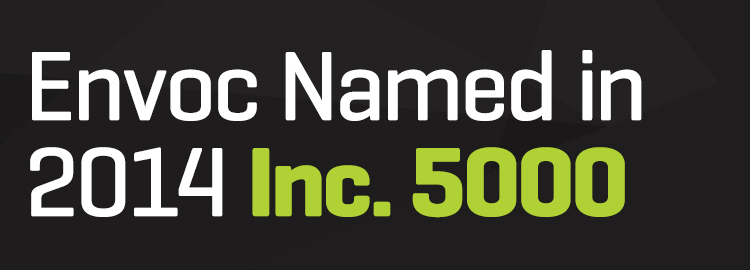 Envoc Named One of the Fastest Growing Private Companies in the United States by Inc. Magazine