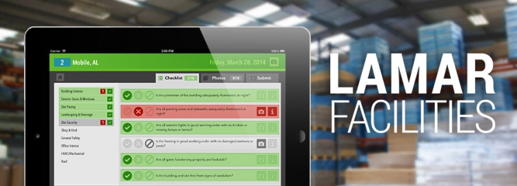 Lamar Advertising Improves Inspections with New App