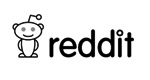 reddit logo with cute robot