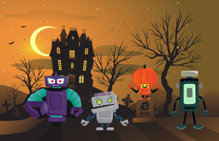Envoc Halloween Obots