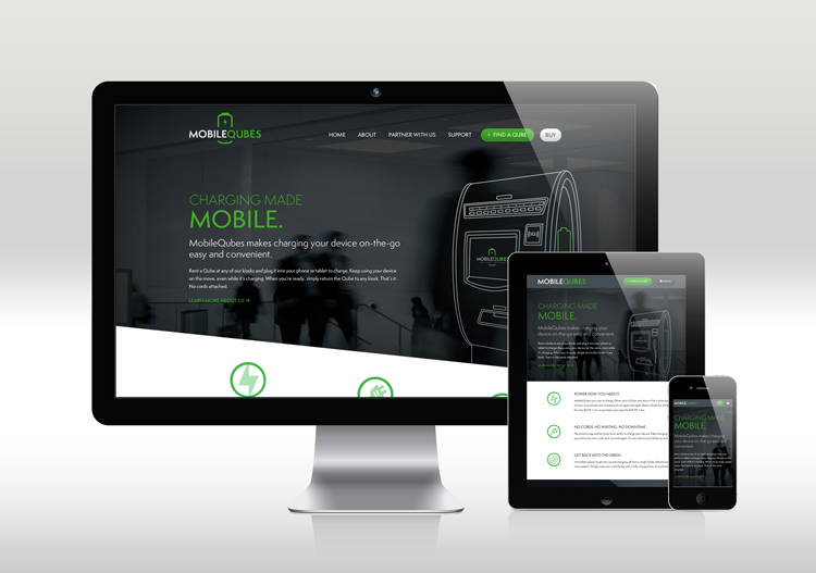 MobileQubes Responsive Website
