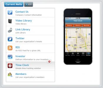 AppMelt - Mobile Content Management System