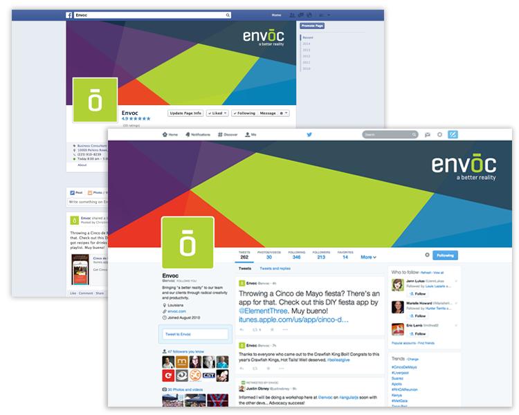 Envoc Social Media Design