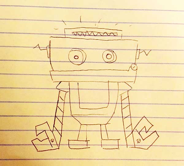 First Obot Dom Drawing