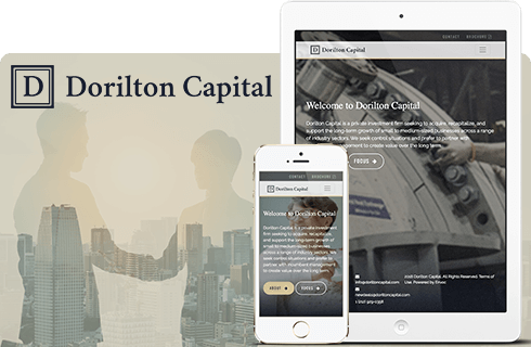 Dorilton Capital Upgrades to a Modern, Simple, Scalable Umbraco Website