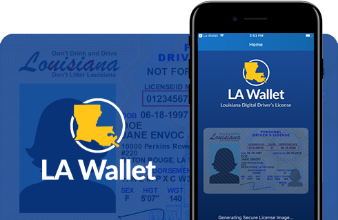 LA Wallet Louisiana Digital License