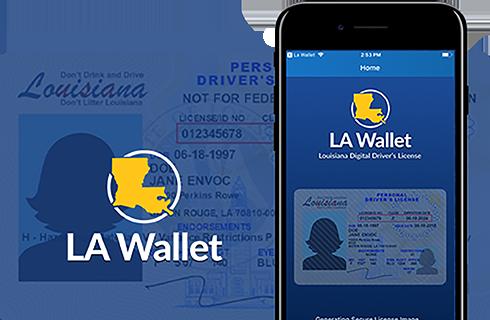 LA Wallet Louisiana Digital License