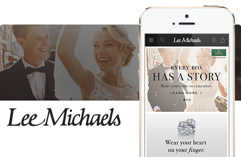 Lee Michaels eCommerce Website
