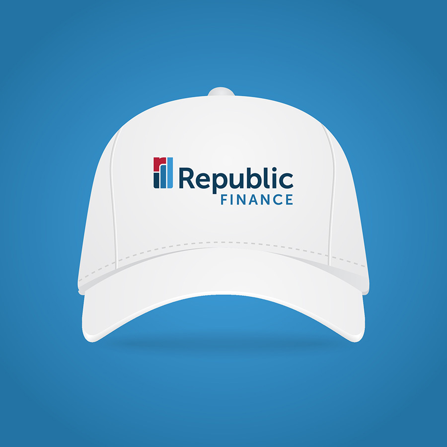 Republic Finance Branding: Hat