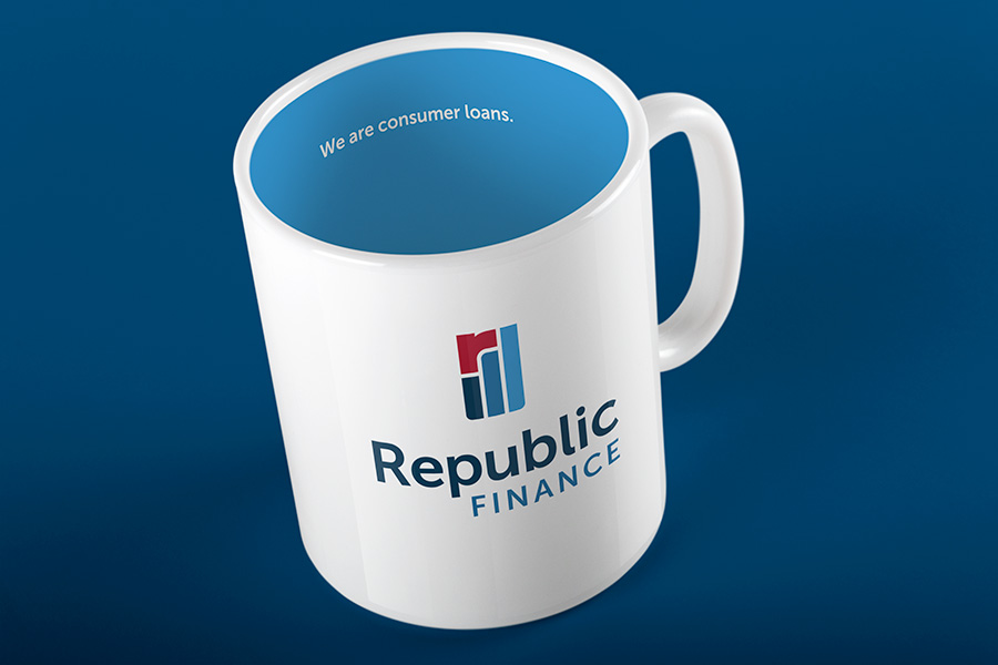 Republic Finance Branding:mug
