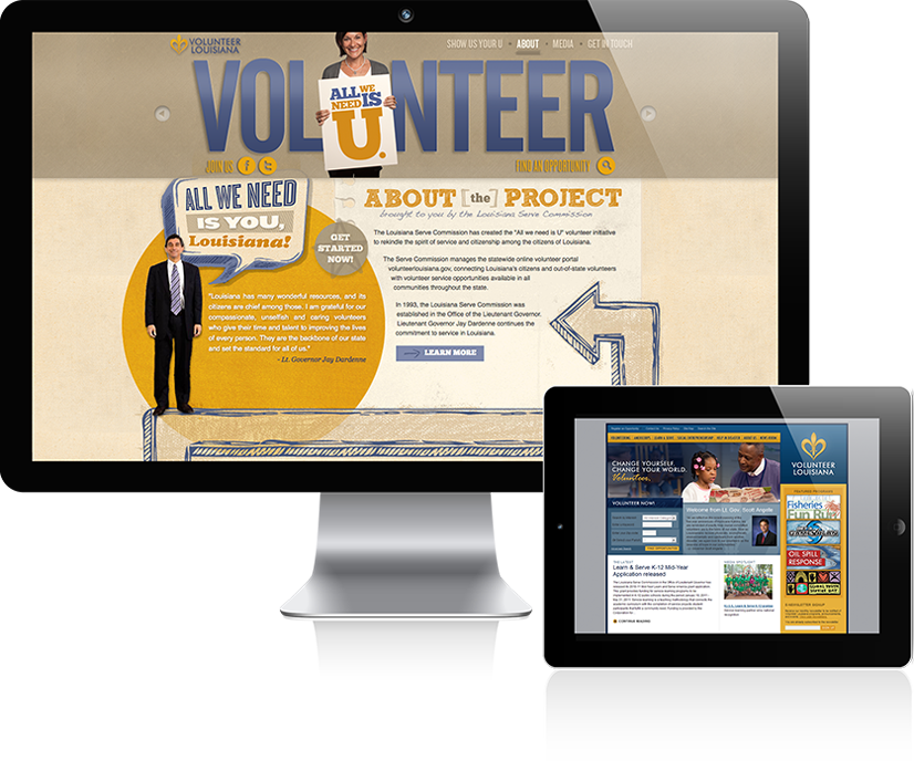 Volunteer Louisiana Ad Campaign