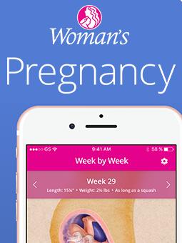 Woman's Pregnancy App
