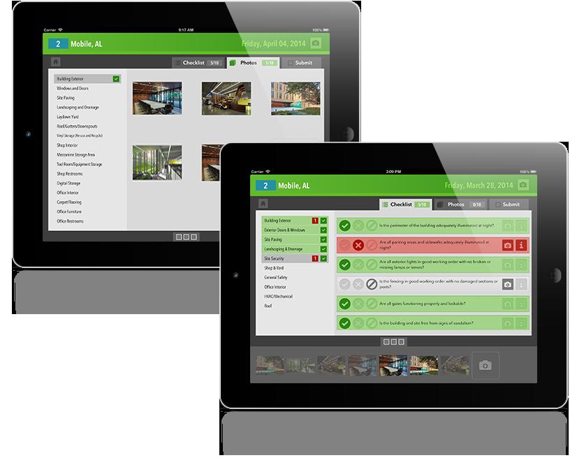 Lamar Facilities Inspection App