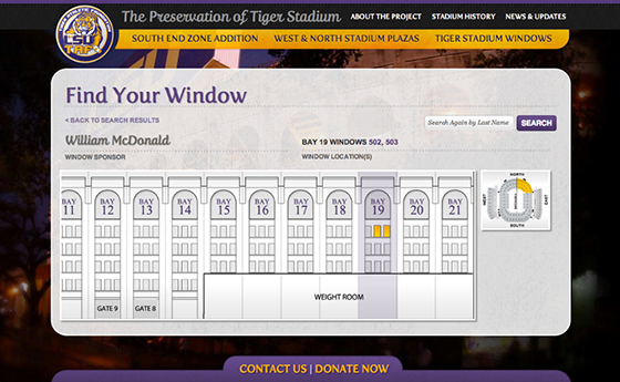 Interactive Seat Selection Website Design