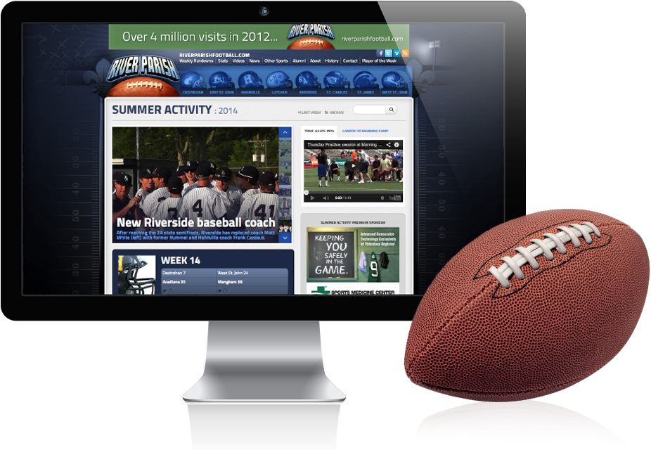 River Parish Football Website