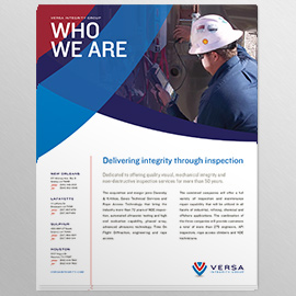 Versa Branding Brochure and Marketing Collateral Design