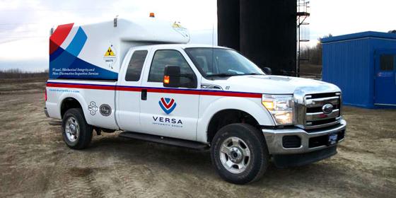 Versa Branding Custom Truck Wrap
