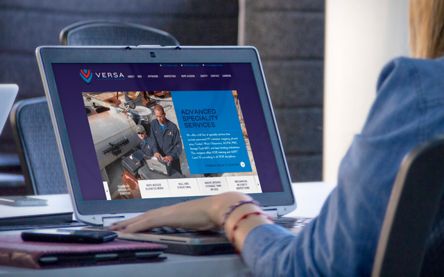Versa Branding Website Design