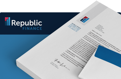 Republic Finance Branding