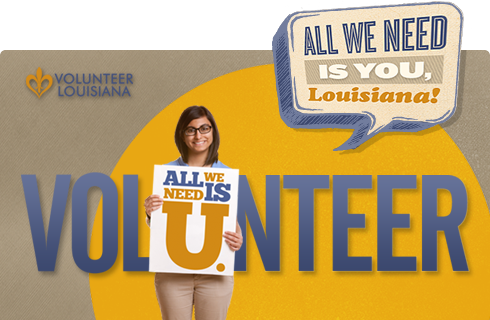 Volunteer Louisiana Ad Campaign